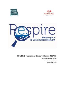 Lancement des surveillances RESPIRE - 2015-2016-1